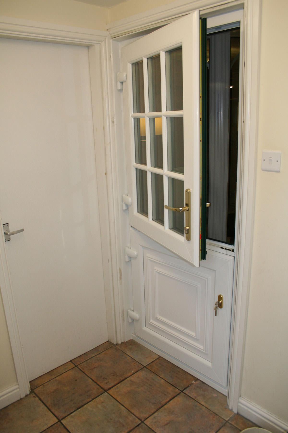 Upvc stable doors margate double glazed doors kent for Double upvc doors