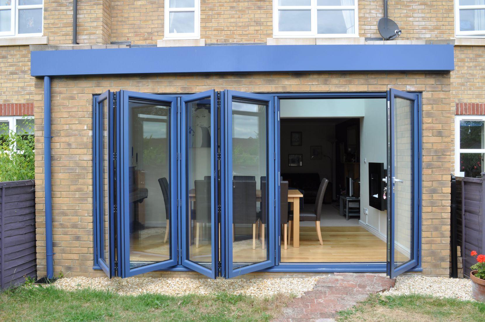 Aluminium bi fold doors margate bi folding doors kent for Aluminium windows and doors
